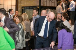 corporate event photographer - event photography at the Brewery London