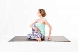 photographing yoga