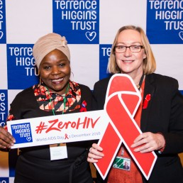 World AIDS Day at Parliament with THT