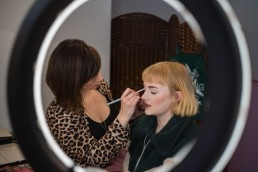 make up artist in manchester