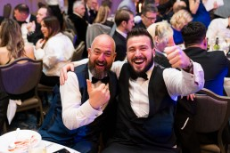 big thumbs up at the CN Specialists Awards 2019
