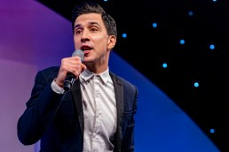 Russell Kane at the CN Specialists Awards 2019