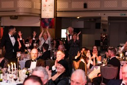 wild celebrations at becoming Winners at the CN Specialists Awards 2019