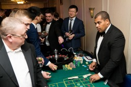 casino tables at the CN Specialists Awards 2019