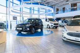 car photography - the new ford Kuga