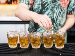 rum Old Fashioneds with Santa Teresa Rum