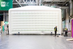 inflatable event space