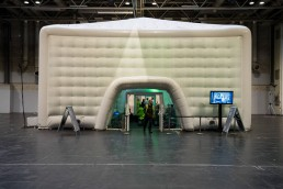 inflatable event structure