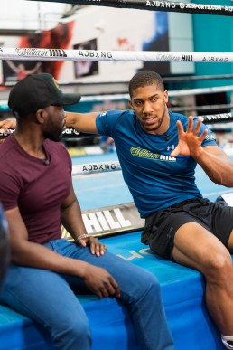 Photographing Anthony Joshua