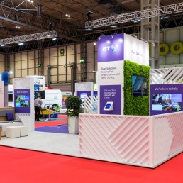 Photographing an Exhibition Stand