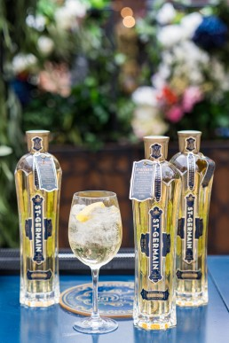 bottles of St Germain