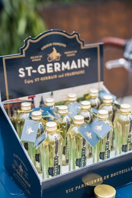 corporate brand giveaways - St Germain alcohol samples