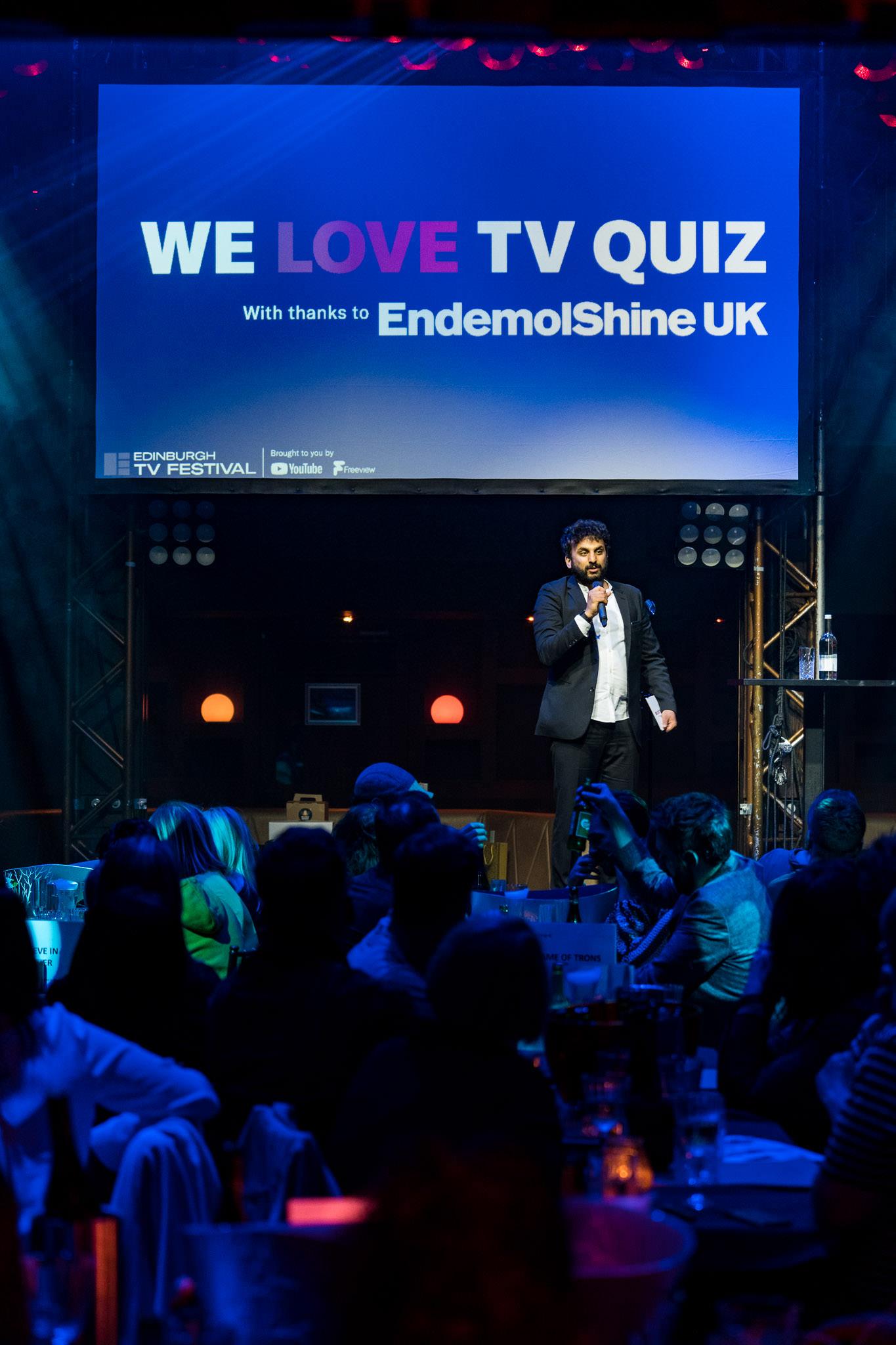 Edinburgh TV Festival's We Love TV Quiz at Proud Embankment