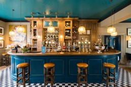 the bar at Aragon House