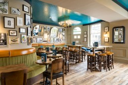 Aragon House pub interior