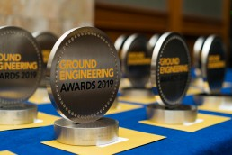 Ground engineering awards 2019 trophies