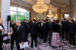corporate event photographer london -guests at the Ground Engineering Awards 2019 Hilton London Park Lane