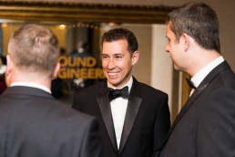 smiling guests at the Ground Engineering Awards 2019