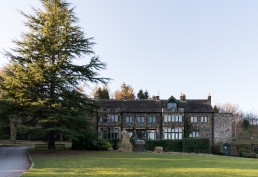 exterior shot of Whirlowbrook Hall