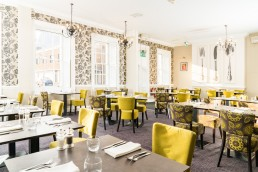 restaurant at the Dophin, Southampton