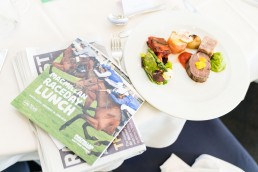 macmillan hospitality area at York Races