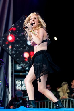 Ellie Goulding Glastonbury 2014