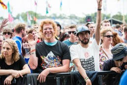 crowd at Glastonbury 2017